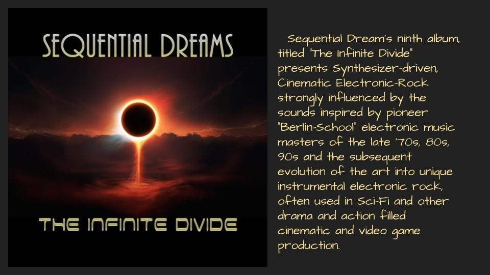 Sequential Dreams - The Infinite Divide - Borders Edge Music